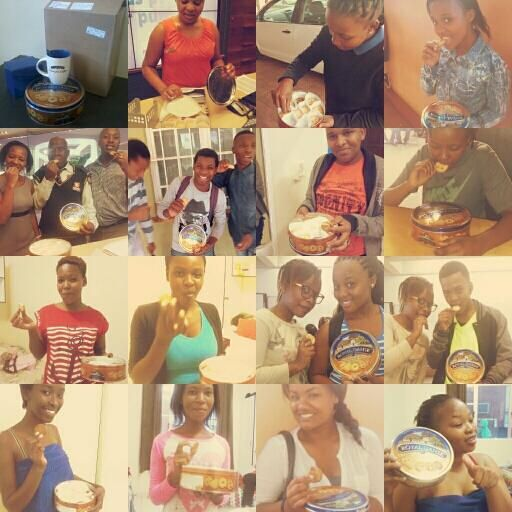 Received my @Royal_Dansk_SA prize  & shared it with everyone! Thank you @Sandile Nene & congratulations once again. pic.twitter.com/oJWwzo5nLJ
