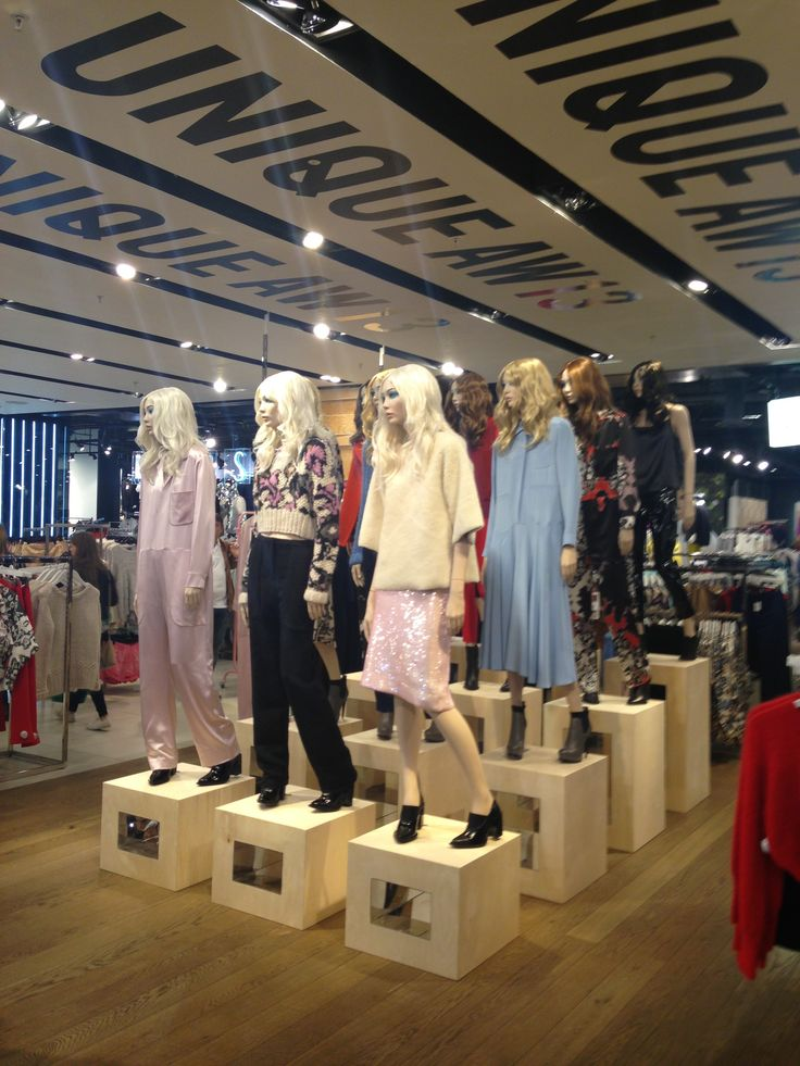 We love the Unique AW14 collection!! #topshop #unique #oxfordcircus #AW13 #personalshopping