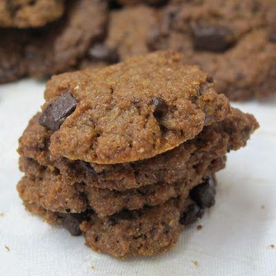 Cozinhar sem Lactose: Bolachas vegan de gengibre com pepitas de chocolate