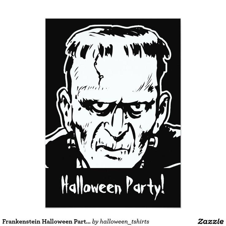 113 best trick or treat halloween party images on pinterest frankenstein halloween party invitation stopboris Images