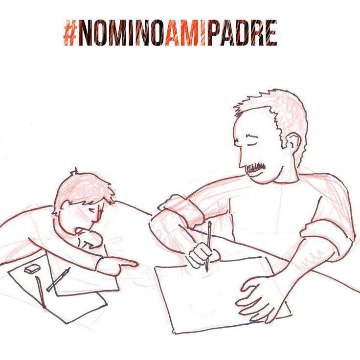 Nomino a mi padre Esteve Pencho por descubrirme con su arte y su paciencia mi pasión por dibujar.    #NominoAMiPadre Worten España #GrandesMomentos