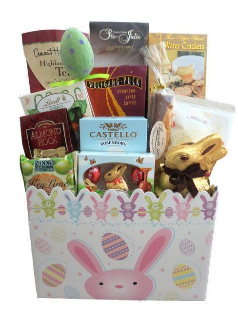 105 best easter ideas we love images on pinterest easter ideas gourmet and chocolate easter gift basket to send negle Image collections