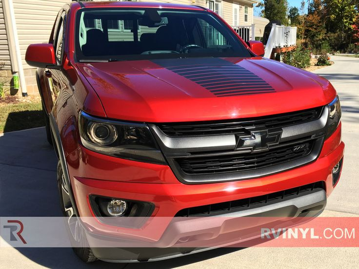 Rtint® Chevrolet Colorado 2015-2016 Headlight Tint | Film #Chevy #Trucks #Colorado #HEadlightTint #SMokedHeadlights #Rtint #Rvinyl