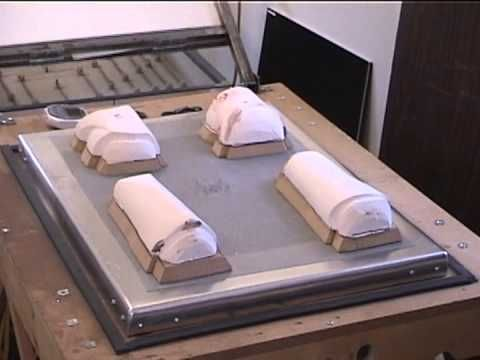 Vacuum Forming Clonetrooper Armor with a Single Hole Platen - YouTube