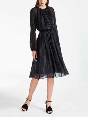 Fil coupé georgette dress