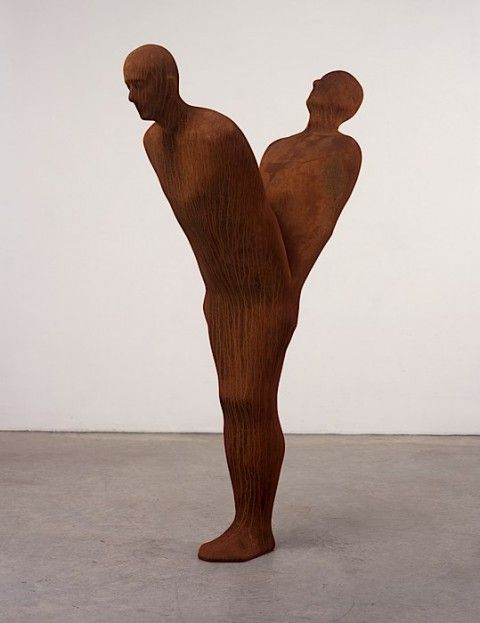 Antony Gormley - Before Two (2004) #art