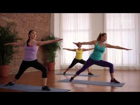 Postnatal Yoga for Strength and Flexibility - YouTube