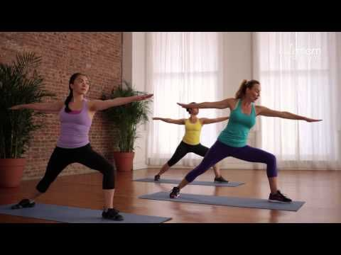 Postnatal Yoga for Strength and Flexibility - YouTube
