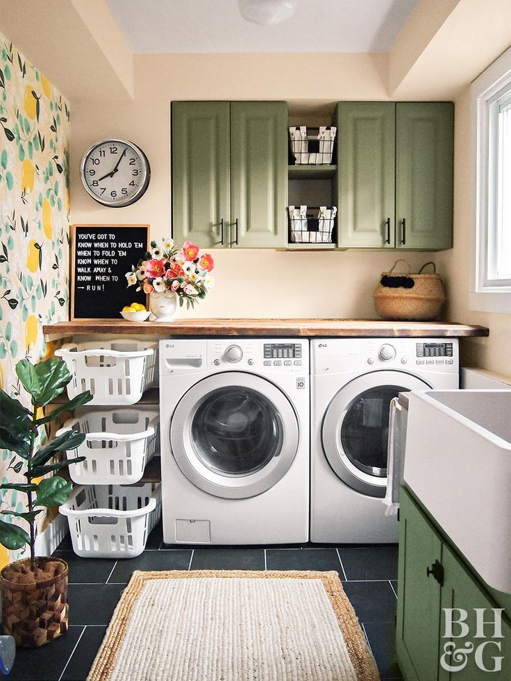 Green Paint Colors Our Editors Swear By Laundry Room Design