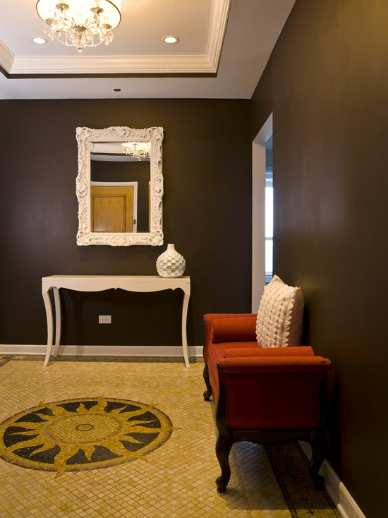 Theater Color Sherwin Williams 6076 Turkish Coffee