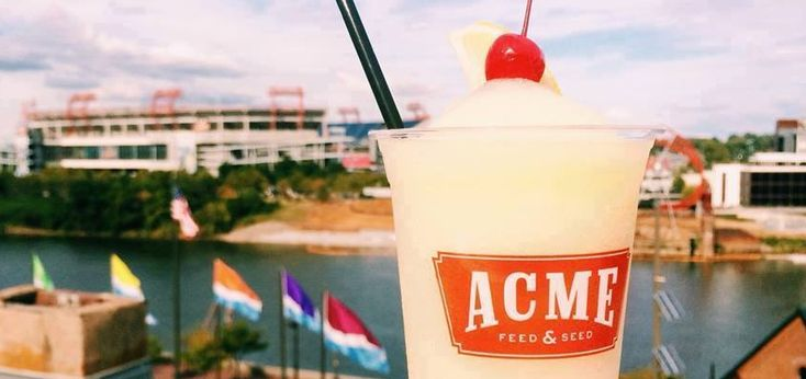 """There are not many spots in Music City that are as """"Uniquely Nashville"""" as Acme Feed & Seed on Broadway. This new staple of downtown #Nashville combines amazing river views with the quality eats of an upscale dining experience with the fun of a night at a honkeytonk.#Nashville #ACME #Honkeytonk #DowntownNashville"""