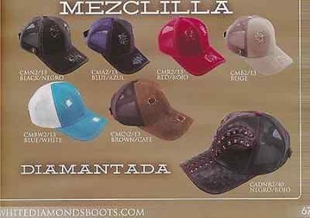 Diamantes Blancos Gorras de Béisbol de Camionero de Malla de Remiendos/Avestruz de Dril de algodón de Sombreros Masculinas