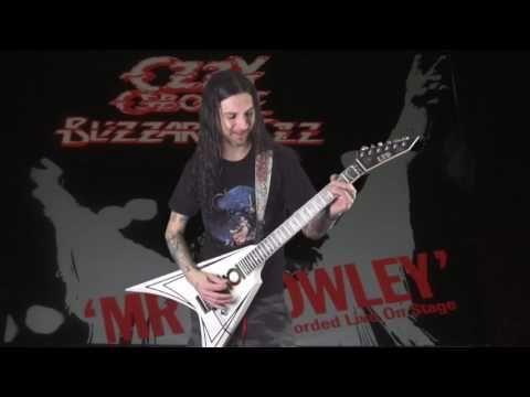 Ozzy Osbourne - Mr. Crowley (cover) - YouTube