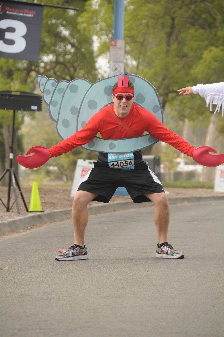 Hermit Crab Running Costume, Rock 'N' Roll San Diego 5K 2016                                                                                                                                                     More