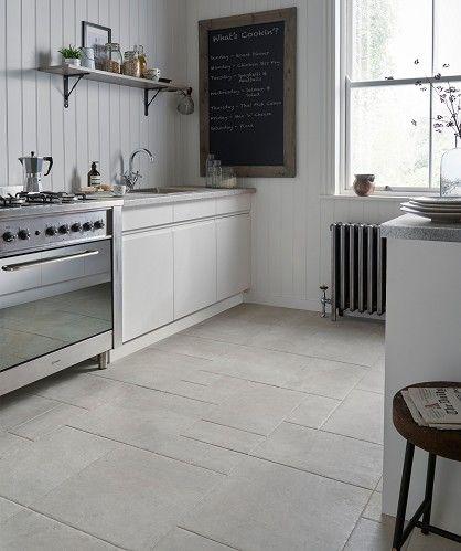 enchanting living room kitchen floor tile | Mottistone™ Grey Modular Tile | Tile floor, Kitchen ...