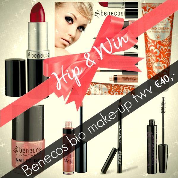 HIP & WIN – Hoe glamorous ben jij in de feestmaand december? Met het Benecos verwenpakket,vol biologische make-up ter waarde van €40,- dat w...