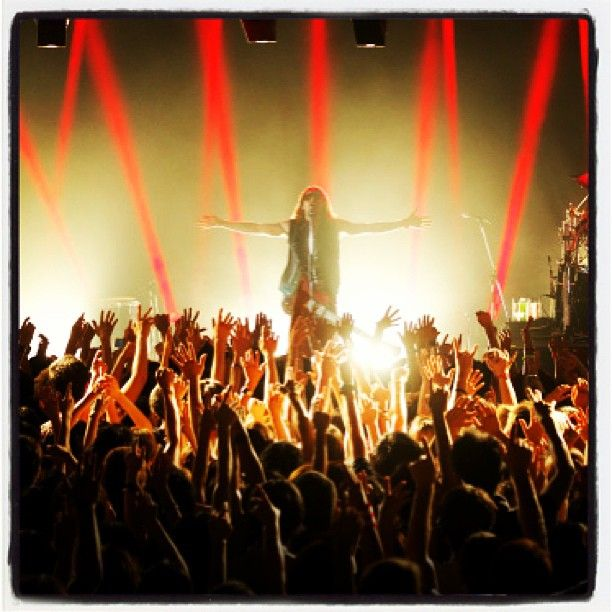 30secondstomars MARS Flashback: TOKYO, JAPAN Will you be joining the Band on Tour?