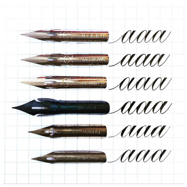 "When asked for nib recommendations I often tell people that I haven't tried very many nibs.  The few that I love tend to be medium flex nibs (like the Gs). I'm warming up to the more flexible ones though.  Here are my favorite nibs:  1. NIKKO G: Sharp medium flex.  My go-to nib  2. TACHIKAWA G: Sharp medium flex.  Feels just like a Nikko G  3. ZEBRA G: Sharp slightly more flexible than the Nikko and Tachikawa G.  4. BRAUSE STENO 361 ""Blue Pumpkin"": Blunt medium flex. Thick hairlines thick…"