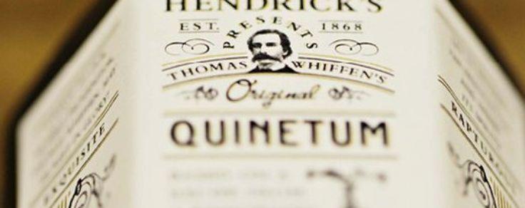 Hendrick's lanza un cordial de quinina dirigido a bartenders