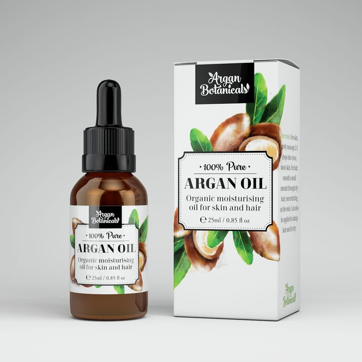 The client asked to create Argan plant illustration to use on the packaging. I decided to do watercolor style illustration to make the product look natural and organic.