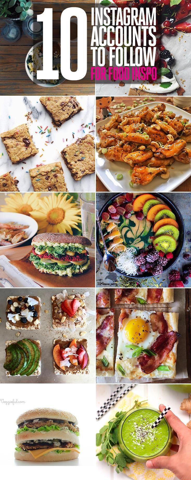 Instagram accounts gesunde rezepte