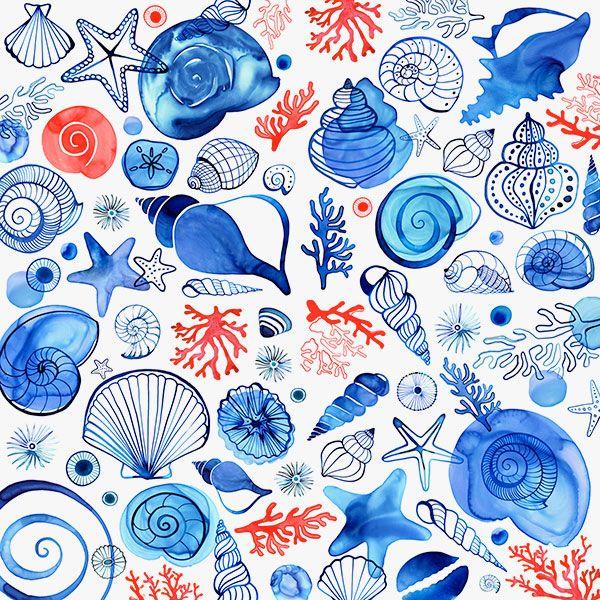 Seashell pattern by?