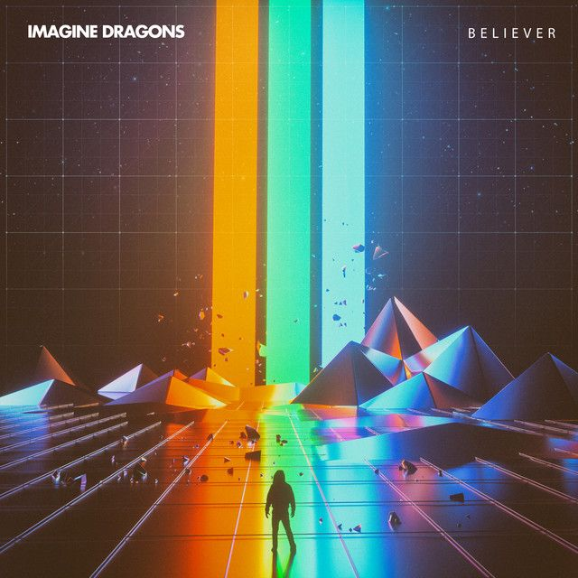 """Believer"" by Imagine Dragons added to Today's Top Hits playlist on Spotify From Album: Believer"