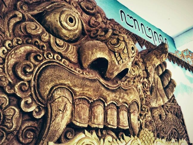 The art of topeng malangan, tradional culture from malang, east java, indonesia