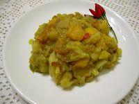 Semplicemente, Vera.: Alicha (verza, patate e peperoni all'eritrea)