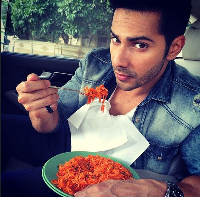 Varun Dhawan goes for some Chinese food! #Style #Bollywood #Fashion #Beauty