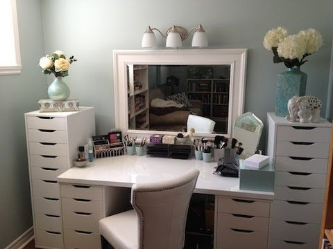 Makeup Collection - Tour, Storage and Organization (July 2012)