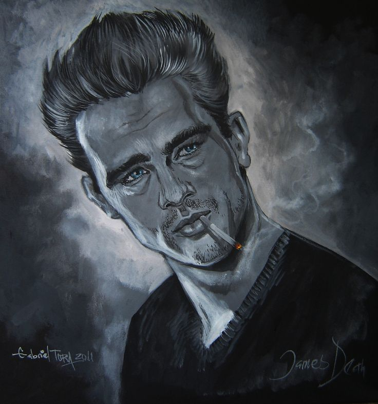 James Dean by Tora