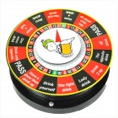 Electric Turntable Roulette Drinking Game (Tuba) $16.21