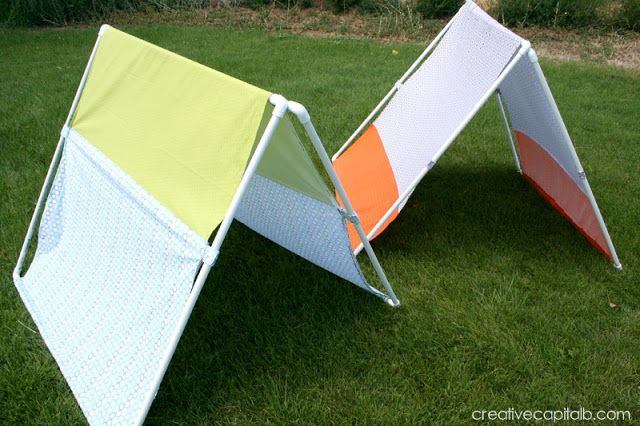 DIY PVC Collapsible Tent