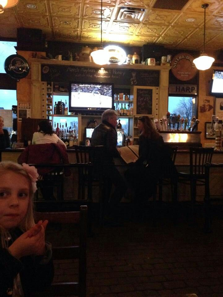 Jon and Dorothea in a South Bend restaurant