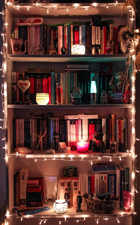 We should have seen this when we were working on our bookshelf organization! http://writersthriftersanddrifters.blogspot.ca/2013/11/bookshelf-organization.html