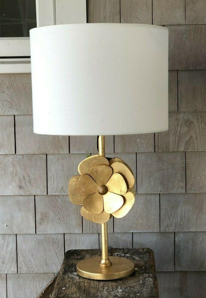 Kate Spade New York Antique Rustic Gold Finish Metal Lamp