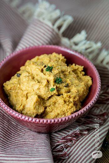 Hummus di pomodori secchi e senape