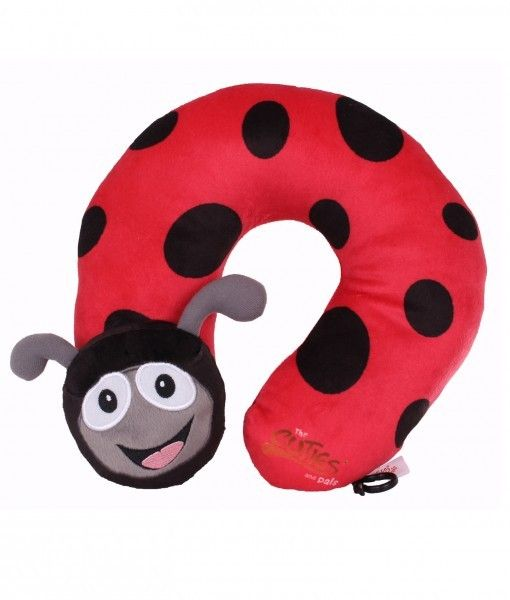 Cuties and Pals Ladybird Neck Pillow
