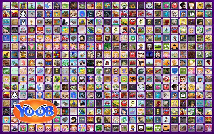FRIV YooB Juegos: captura de tela