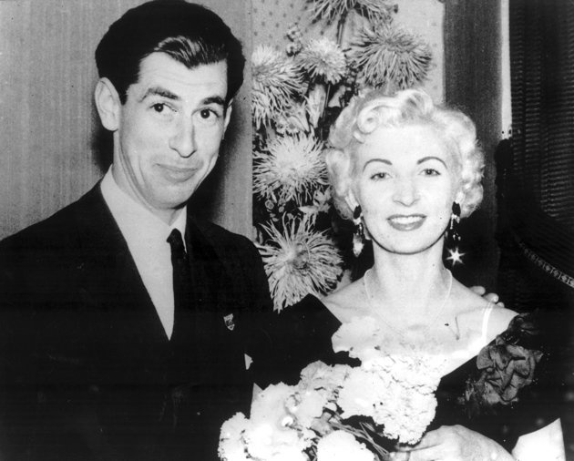 Ruth Ellis (right) and the man she killed David Blakely (left) (PA) Click on picture to warch short video