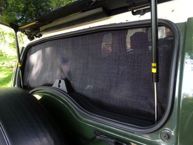 GROUP BUY - FJ Cruiser Rear Window Screen System - Toyota FJ Cruiser Forum