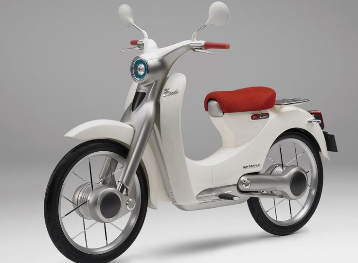 I love this honda electric scooter.