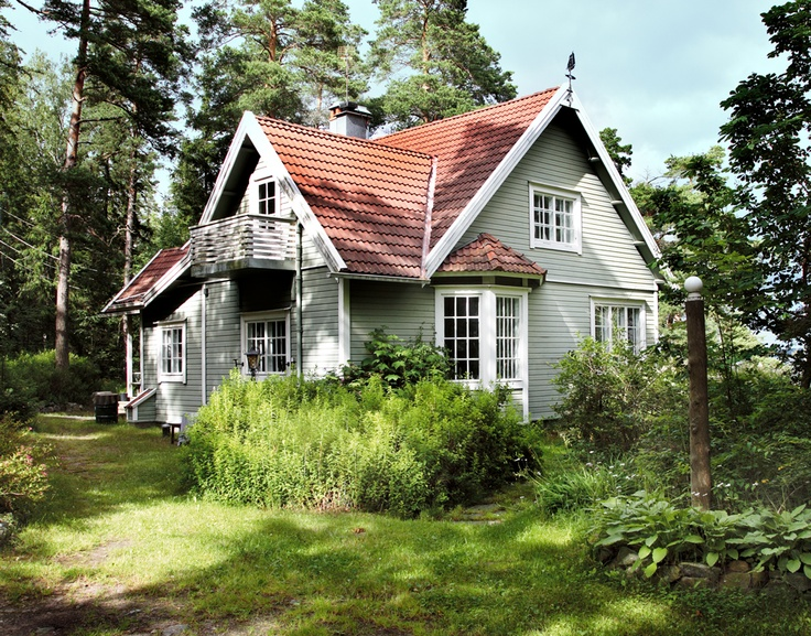 Swedish summer house...THIS. Simplicity. Love.