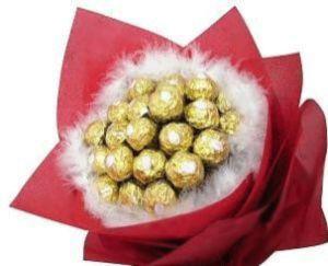 indonesia Chocolate - Ferrero Love Feathers