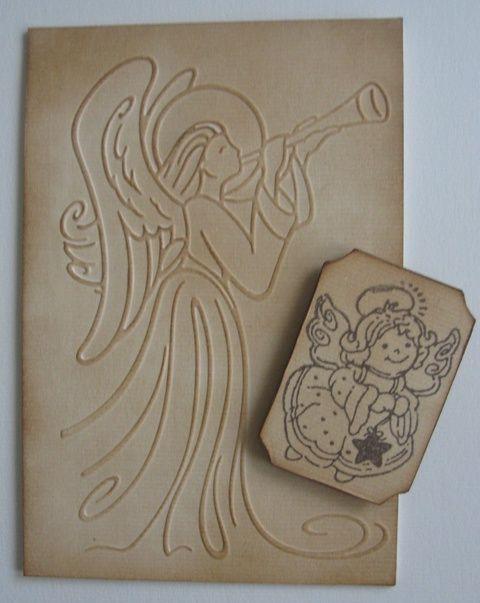 Dombormintás falikép, bélyegzőmintás hűtőmágnes