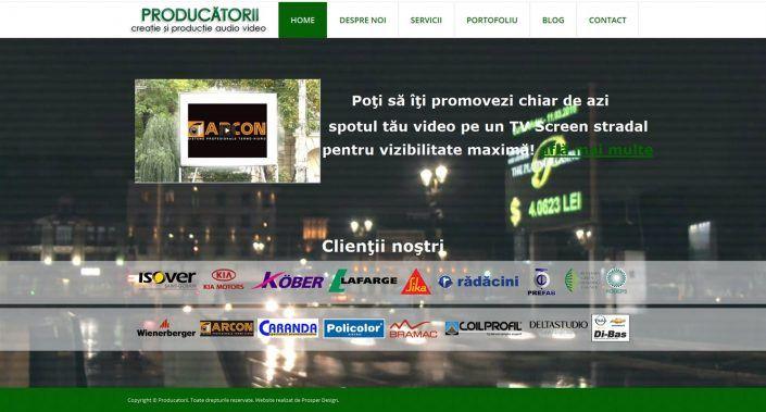 Prosperdesign Creare Site Producatorii by ProsperDesignWeb.deviantart.com on @DeviantArt