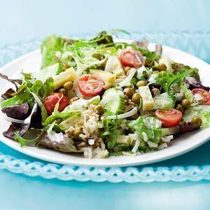 Recept - Maaltijdsalade met meergranenrijst - Allerhande