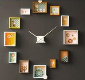 leuk idee voor klok,