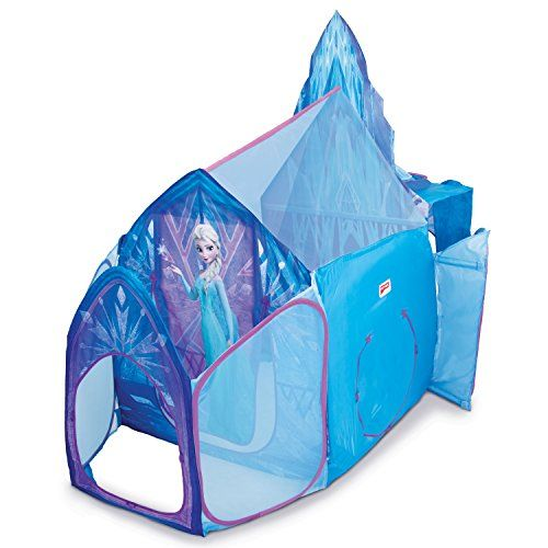Elsa's Ice Castle Play Tent - Playhut Disney's Frozen - http://www.kidsdimension.com/elsas-ice-castle-play-tent-playhut-disneys-frozen/